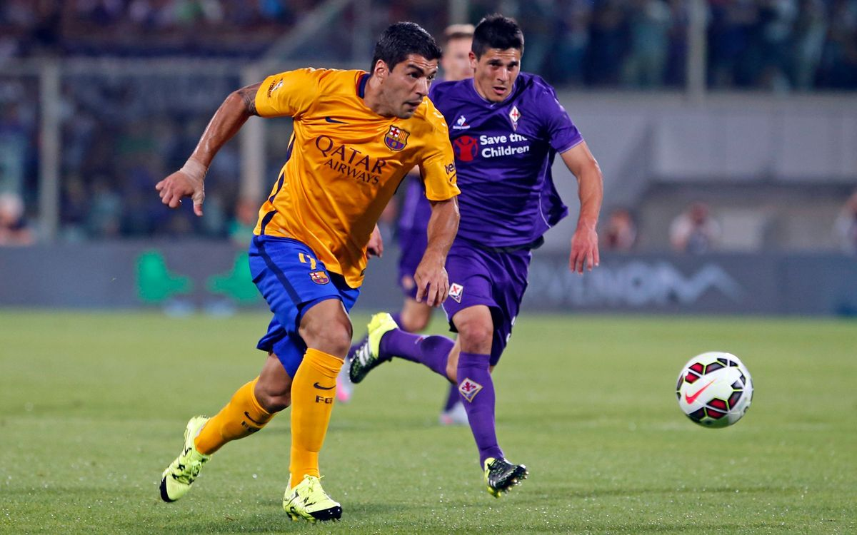 ACF Fiorentina v FC Barcelona: Defeat in summer tour finale (2–1)