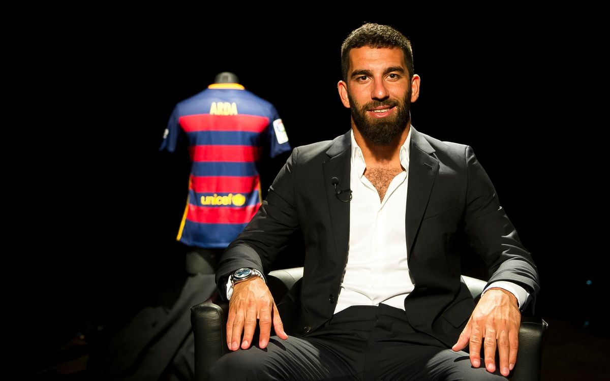 Arda Turan: I have enjoyed watching Barça since I was little