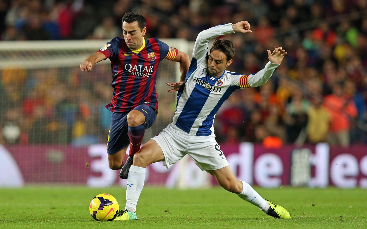 The derby against Espanyol Saturday 25 April at 4.00pm CET