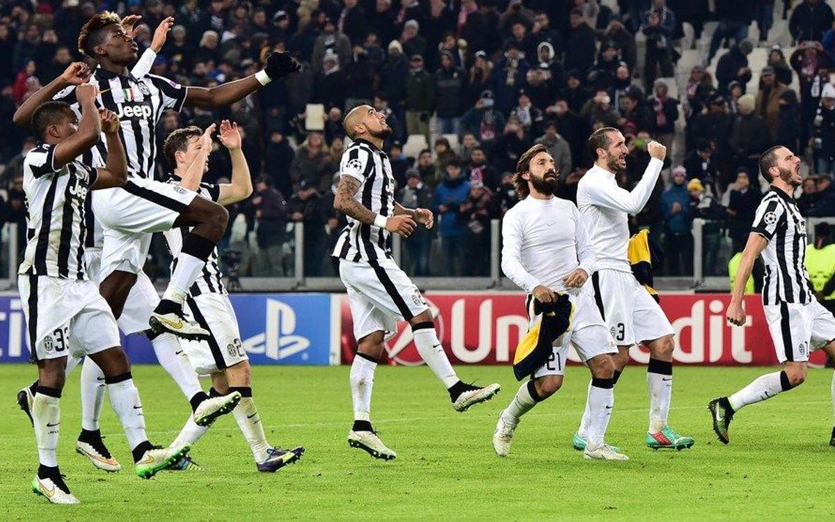 Le parcours de la Juventus