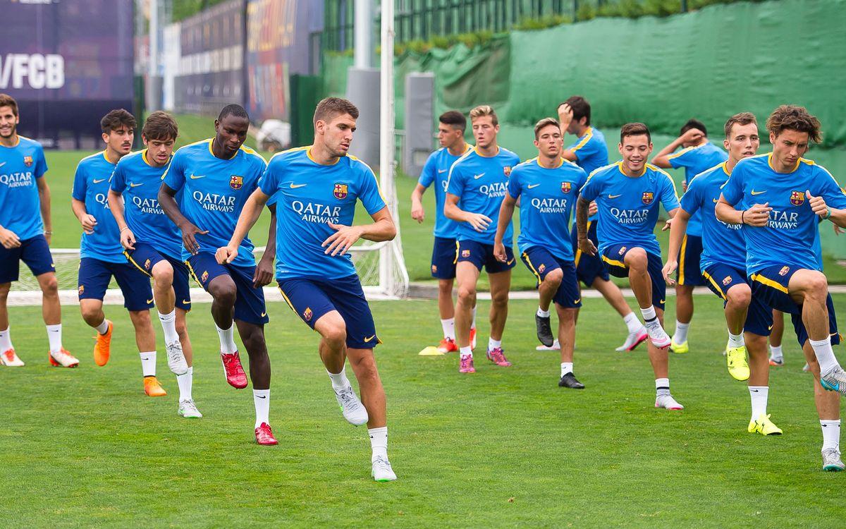 El filial torna als entrenaments a la Ciutat Esportiva