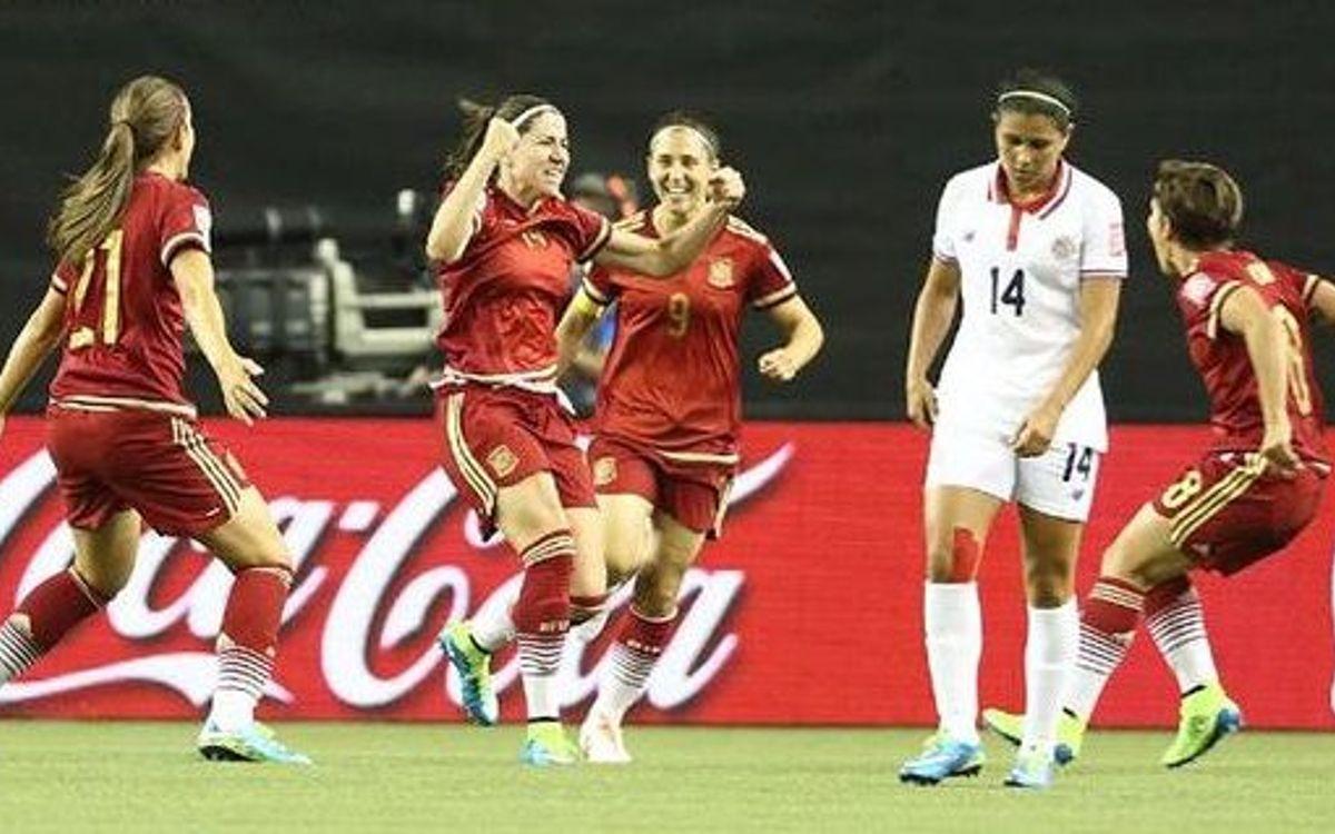 La selecció espanyola empata en el seu debut mundialista contra Costa Rica (1-1)