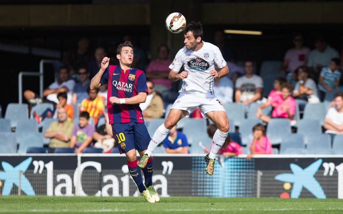 CD Lugo v FC Barcelona B: Late frustration (3-2)