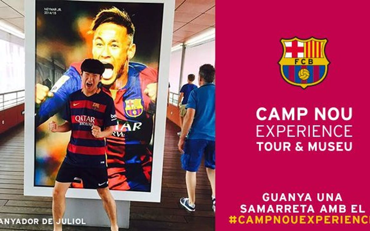 Find out the winner of the Camp Nou Experience photo challenge