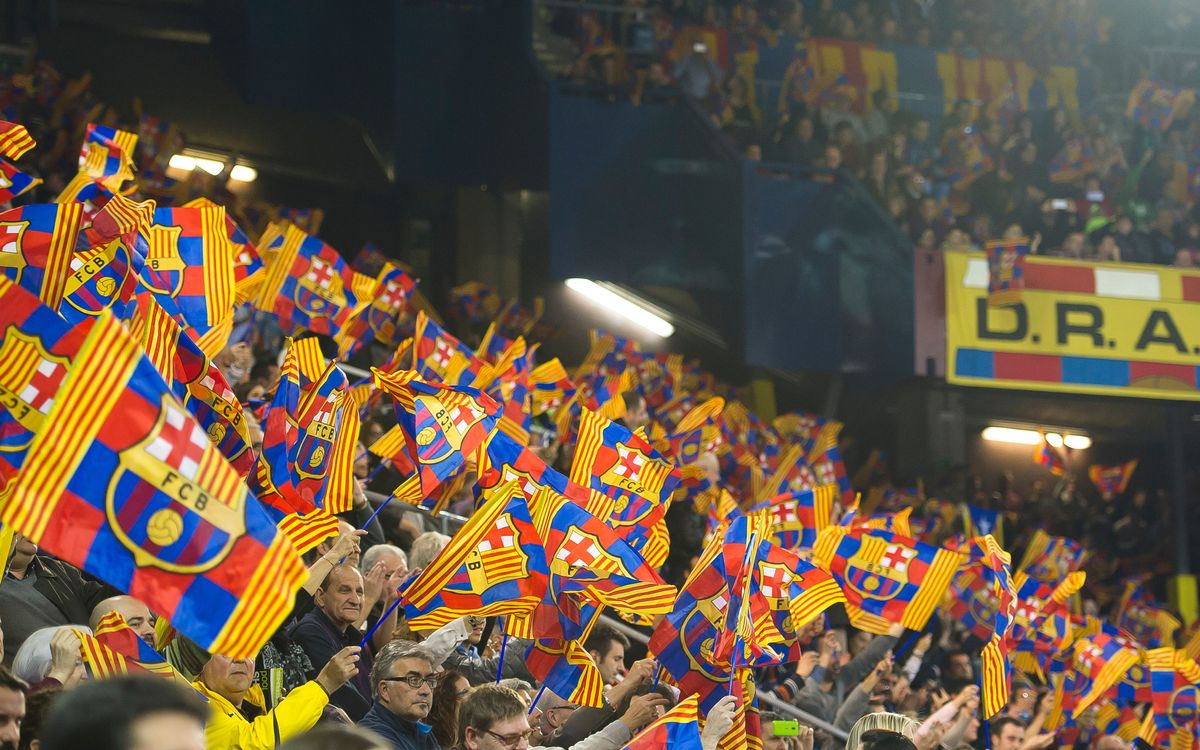 FC Barcelona formidable at the Palau Blaugrana