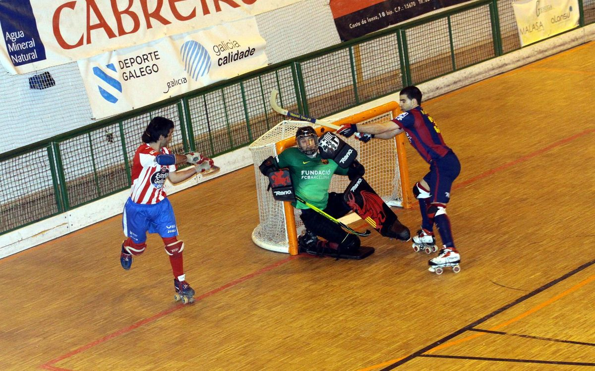HGP Cerceda – FC Barcelona: Victory to stretch lead in league