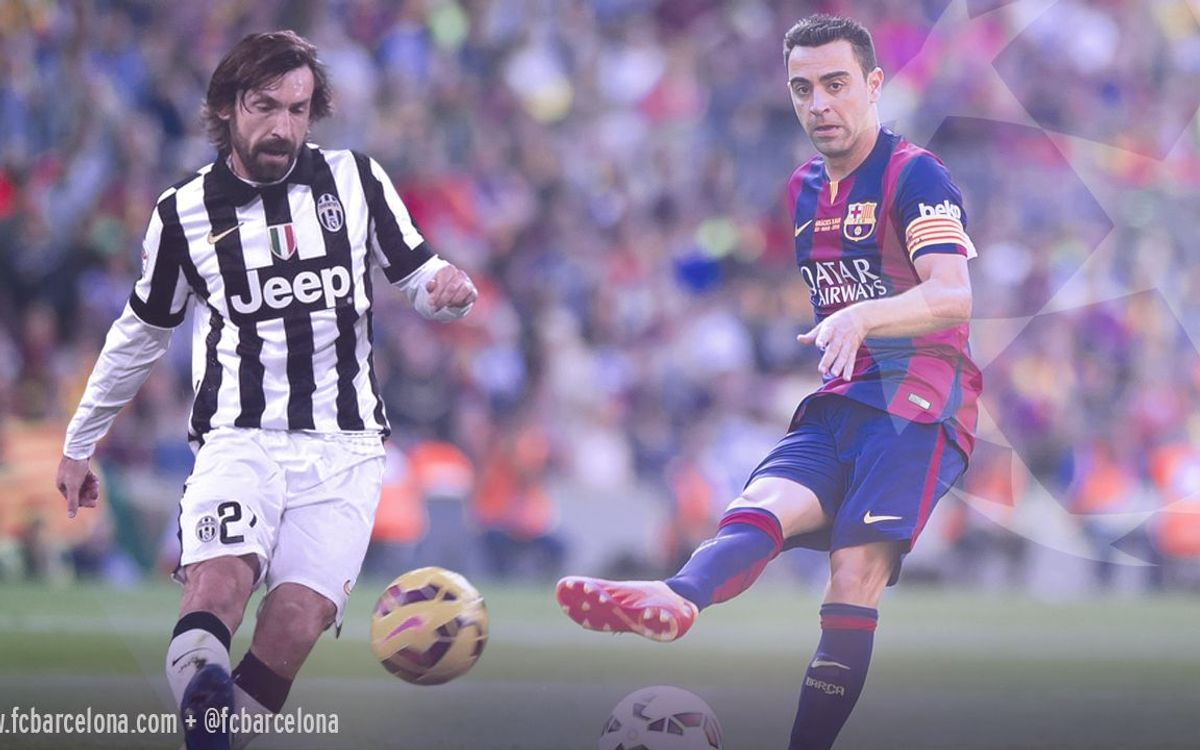 Xavi and Pirlo, living legends set to meet in Berlin
