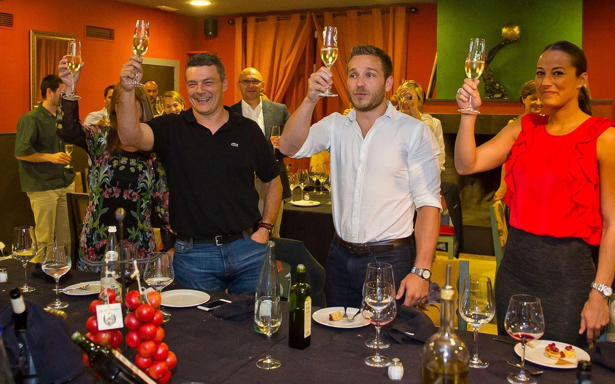 Sopar de celebració de la Champions del Barça d'handbol
