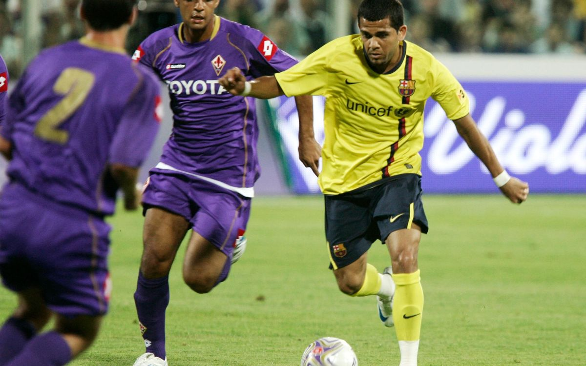 A look back at previous meetings between FC Barcelona and ACF Fiorentina