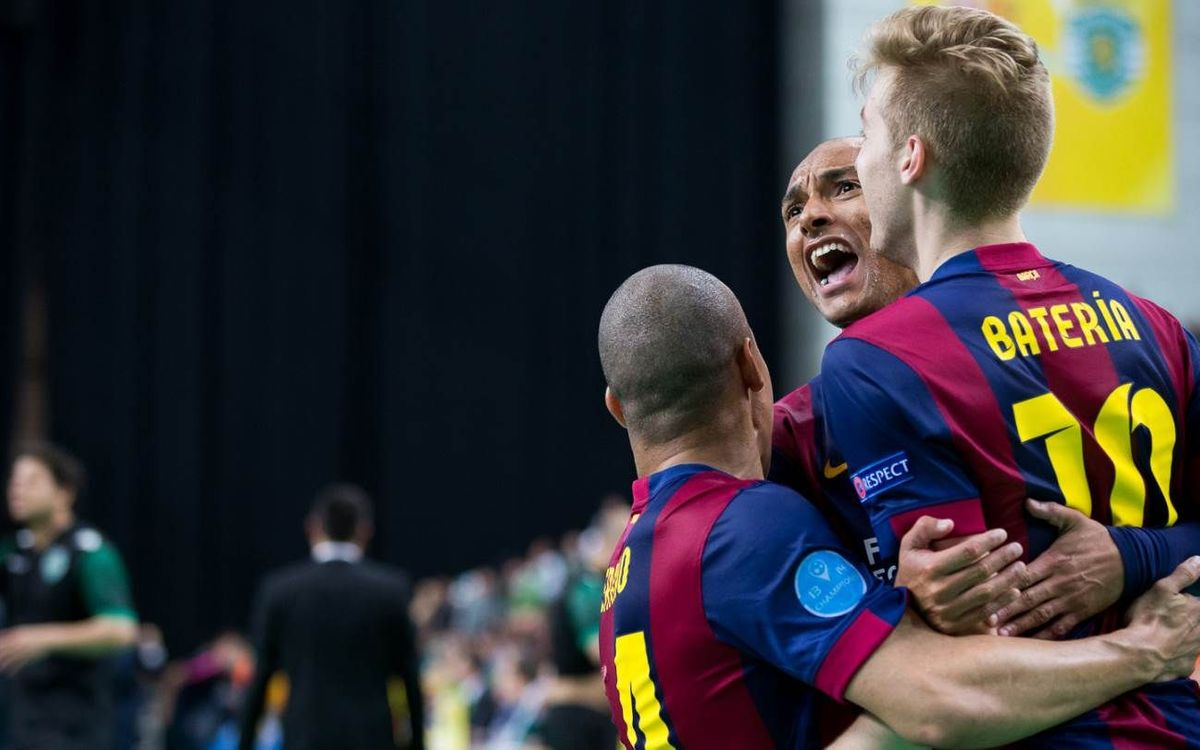Sporting Clube Portugal-FC Barcelona: Into the final of the UEFA Futsal Cup (3-5)