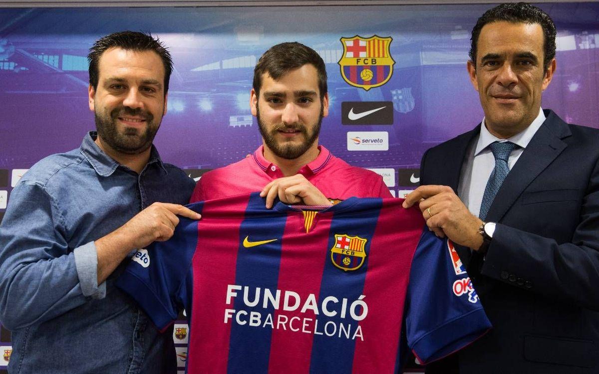 """Edu Lamas: """"Estic molt content d'arribar al millor club del món"""""""