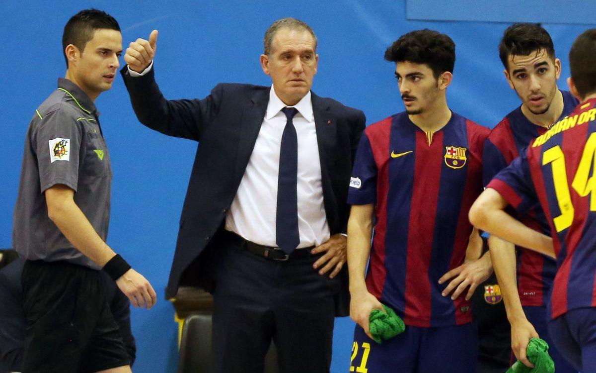 El Barça B podria proclamar-se campió de la Segona Divisió de la LNFS