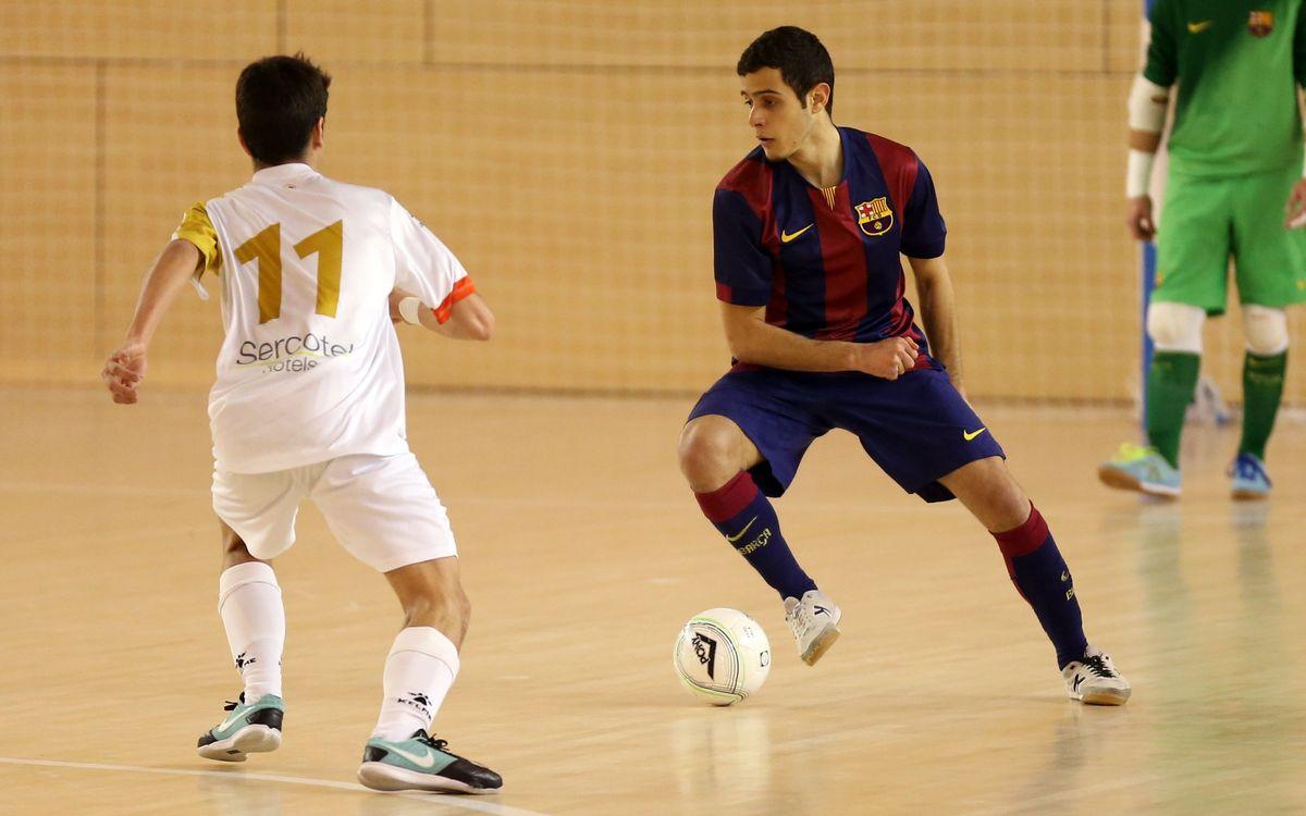 El Juvenil passa a la fase final del Campionat d'Espanya (9-2)