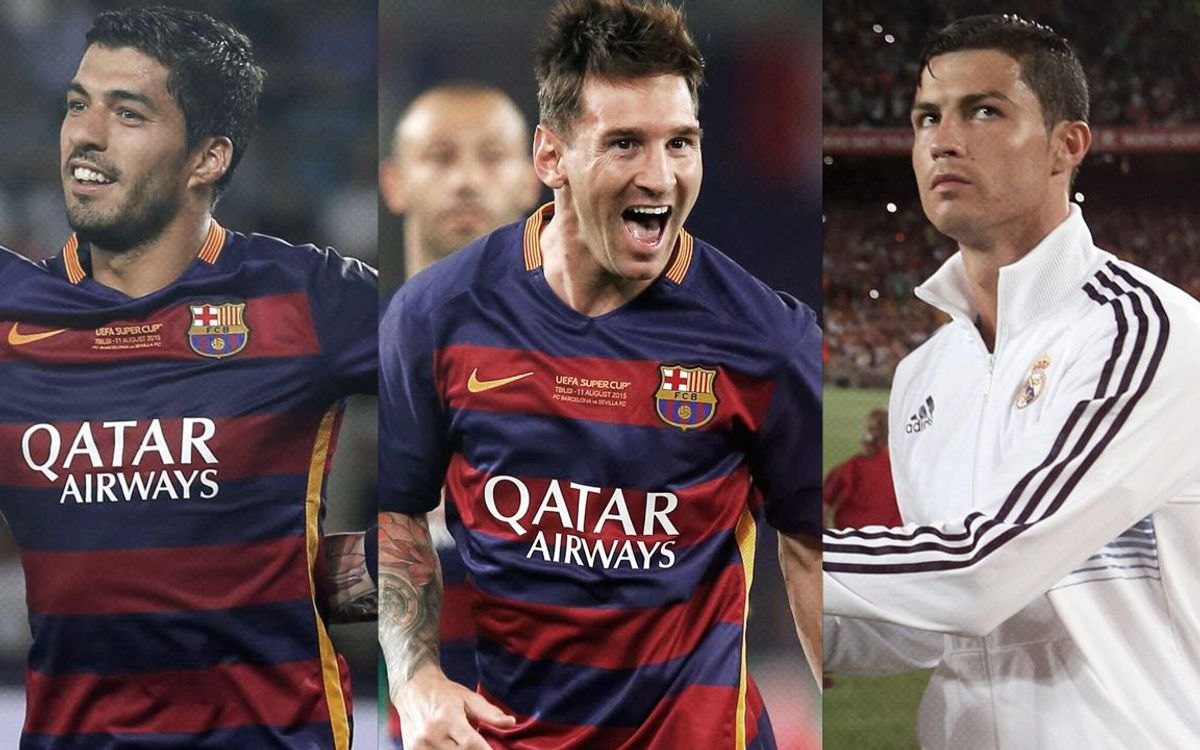 Messi, Suárez and Ronaldo finalists for 2014/15 UEFA Best Player in Europe Award