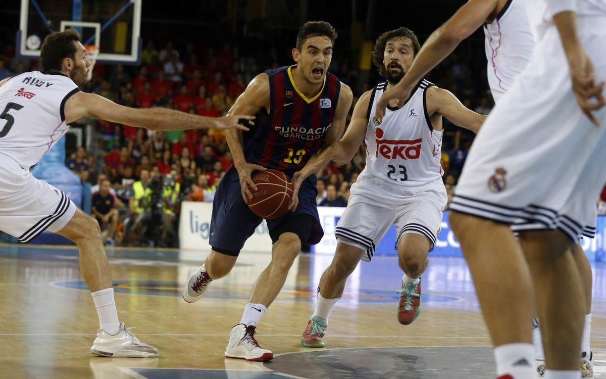 FC Barcelona fall 90–85 in Game 3, are swept by Real Madrid to end season