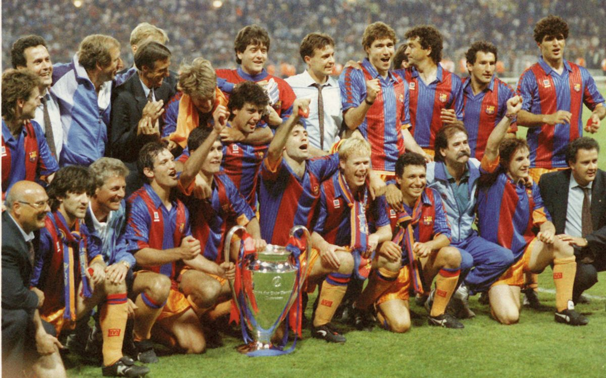 20 May 1992: FC Barcelona win European Cup