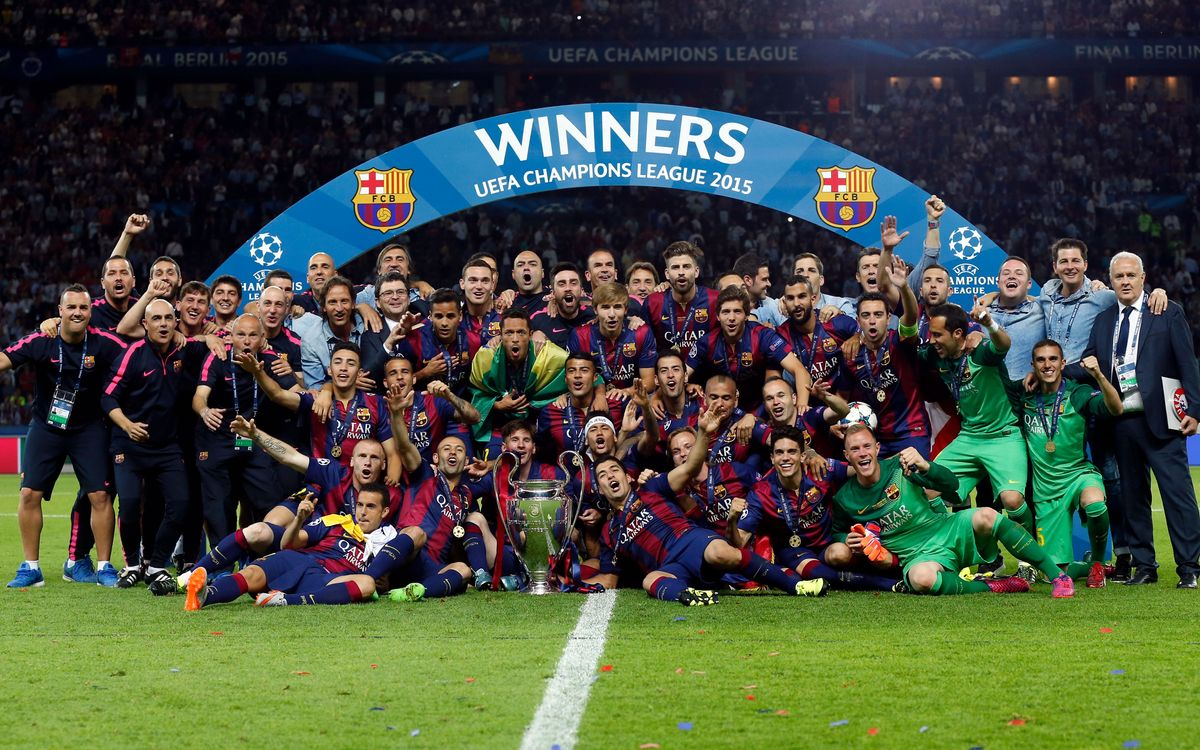FC Barcelona will be honoured by UEFA for their five Champions League wins