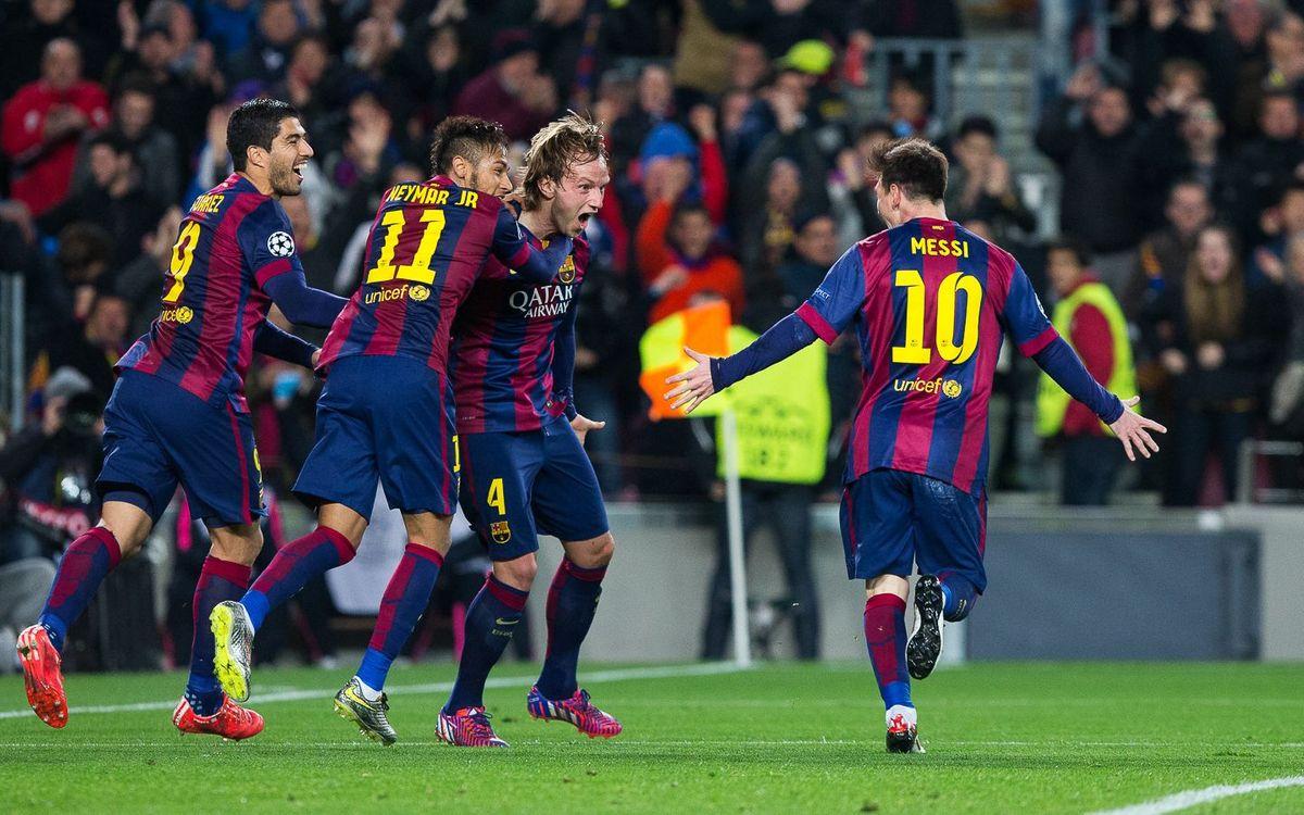 FC Barcelona v Manchester City: Cruising into quarter-finals