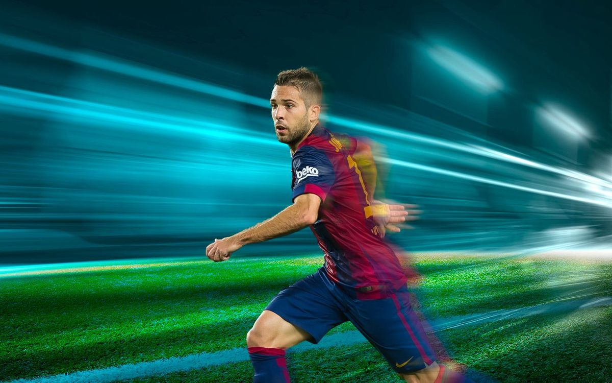 Jordi Alba: the quick left back