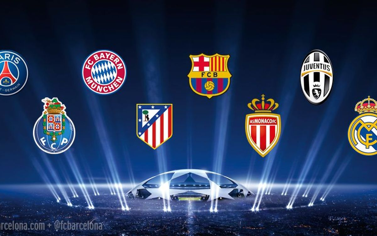 FC Barcelona's seven possible quarter-final opponents in the UEFA Champions League
