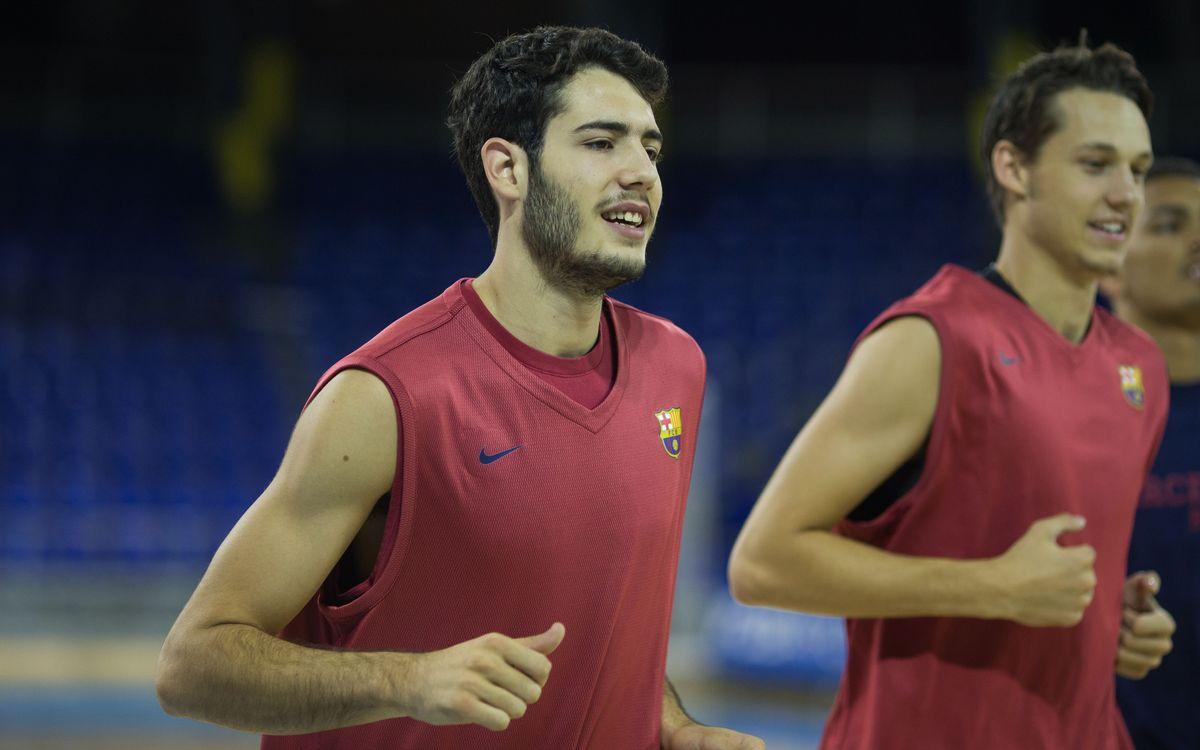 El Barça Lassa de bàsquet torna a la feina aquest dijous