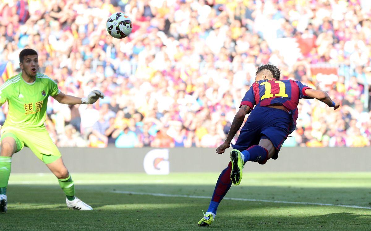 Five keys to FC Barcelona's 2–0 victory over Real Sociedad