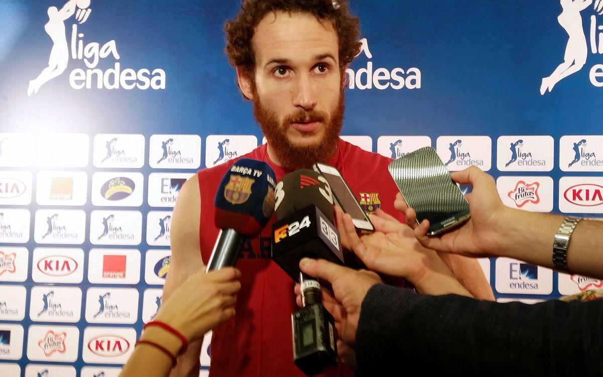 """Marcelinho Huertas: """"Haurem de fer un partit gairebé perfecte"""""""