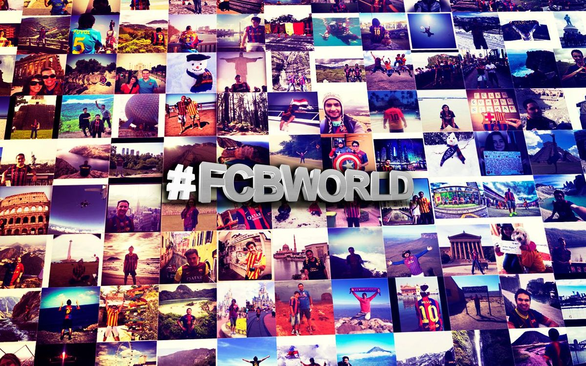 #FCBWORLD: The best pictures of Barça Fans around the world