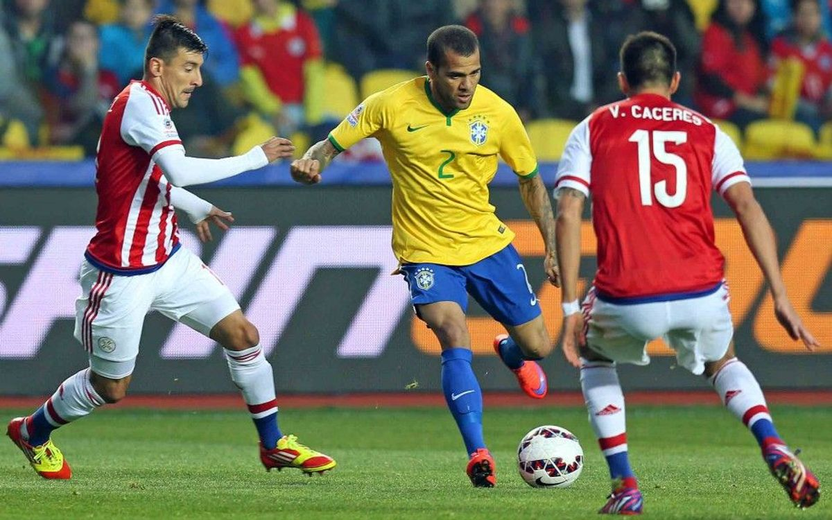 Dani Alves laments Brazil's lack of control