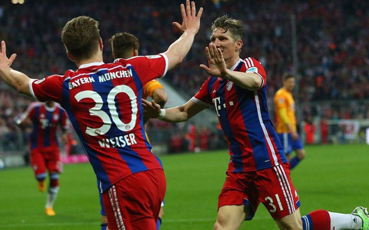 El Bayern de Munic frega la Bundesliga