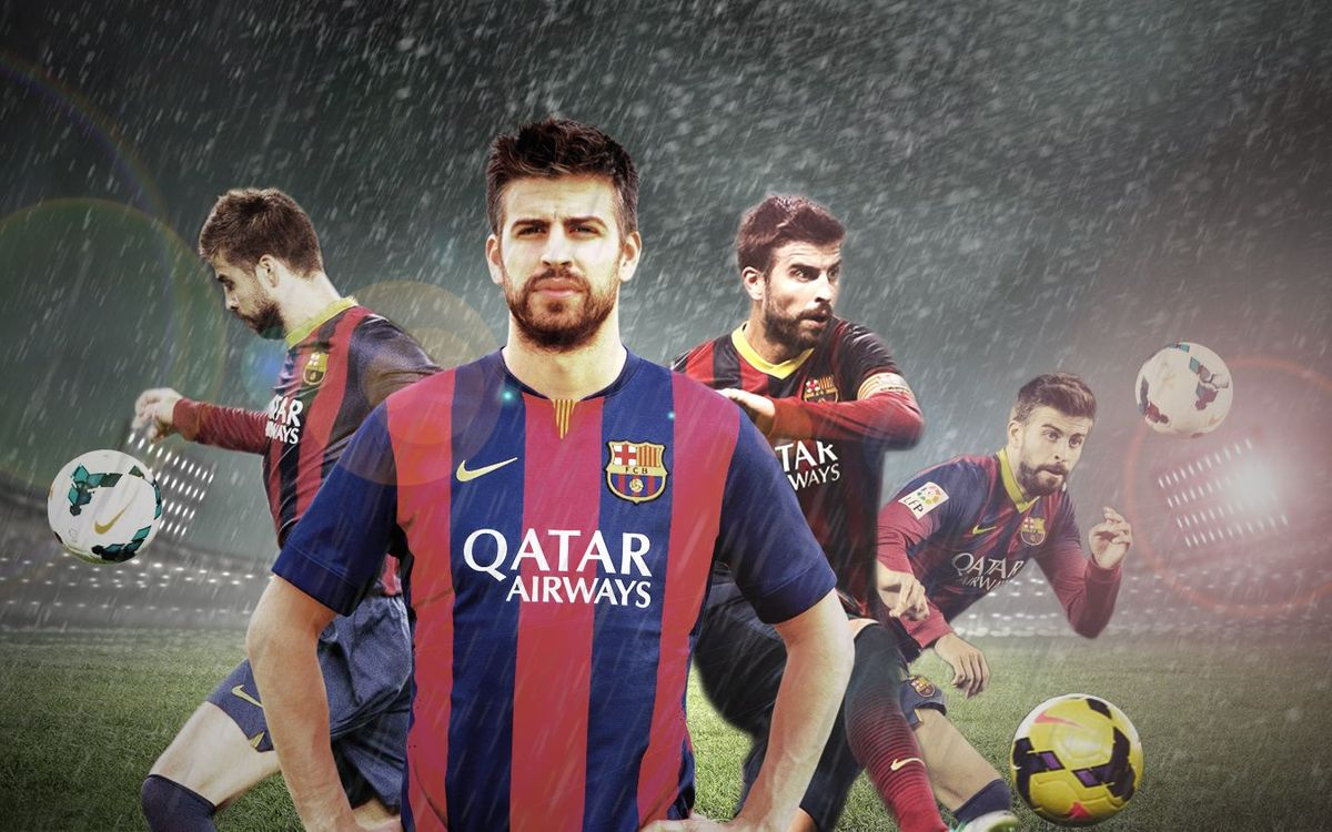 Piqué: the advanced defender