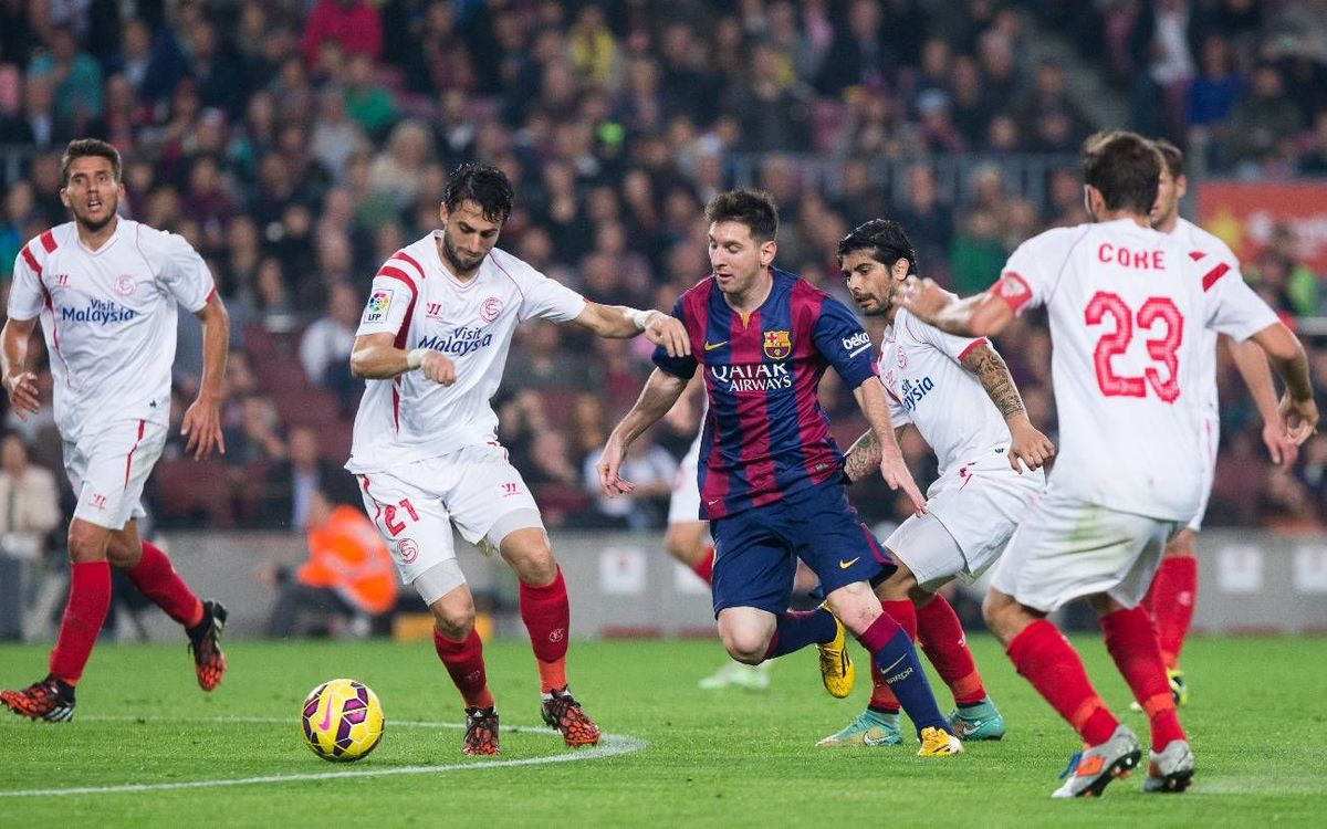 FC Barcelona v Sevilla: Memorable meetings