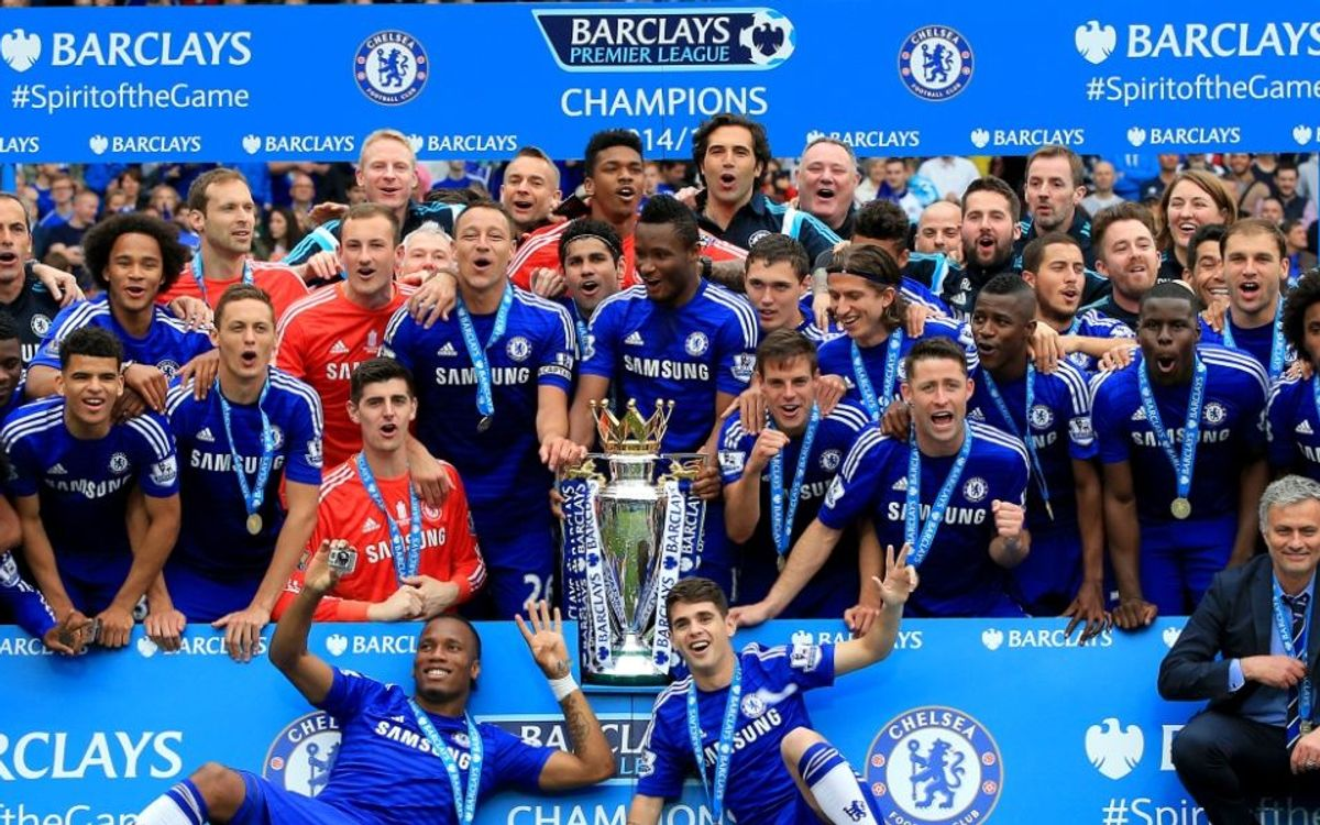Chelsea, English Premier League winners, eye Champions League