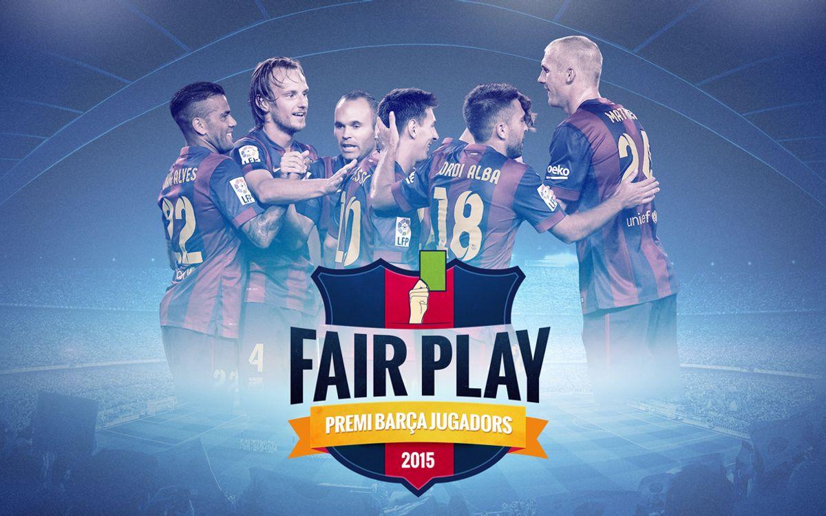 Xavi, Iniesta, Macherano, Messi, Piqué i Rakitic, finalistes del Premi Barça Jugadors