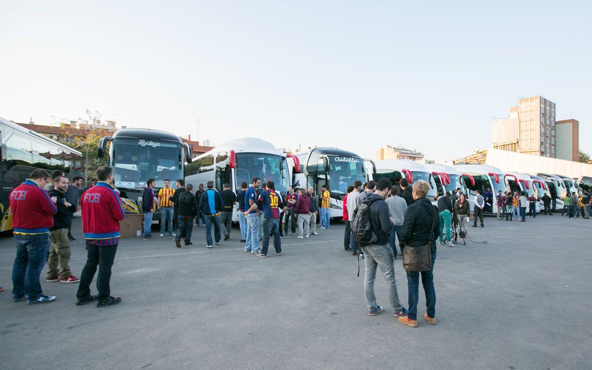 S'amplia el termini per reservar plaça en els autocars gratuïts