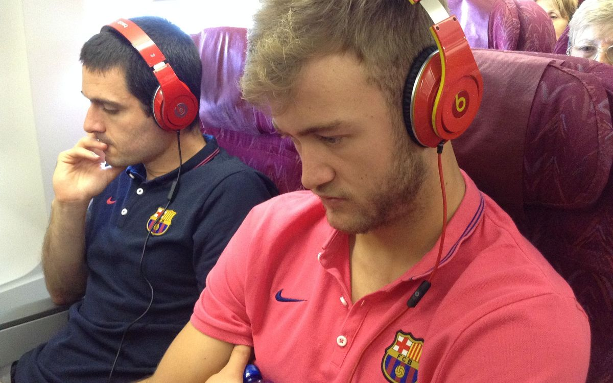 La música dels jugadors del Barça d'handbol a la Final Four