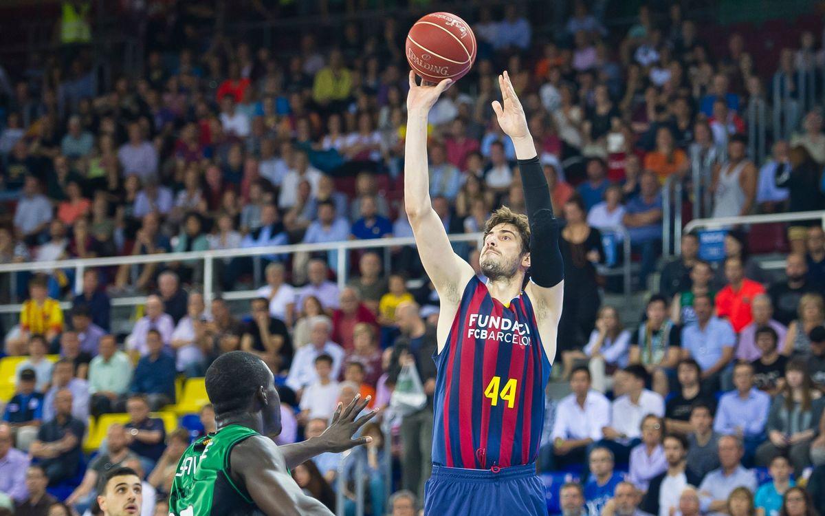 El Barça espera rival a les semifinals de la Lliga Endesa