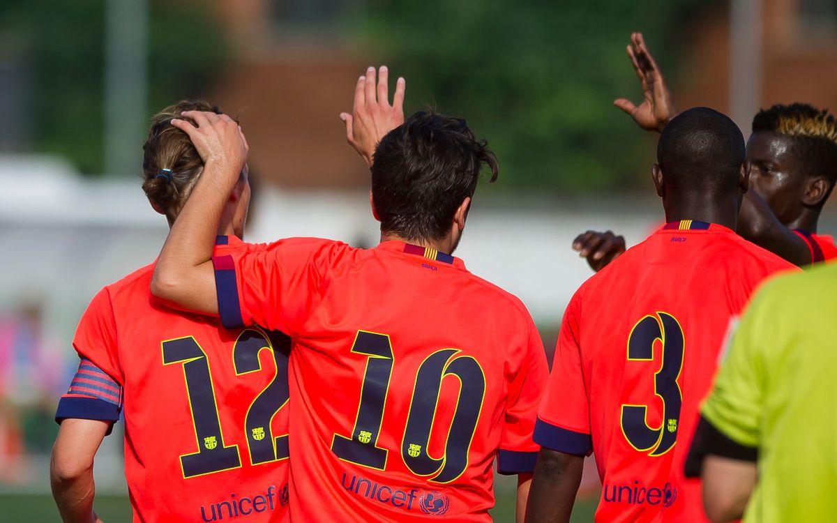 Així és el grup del Barça B