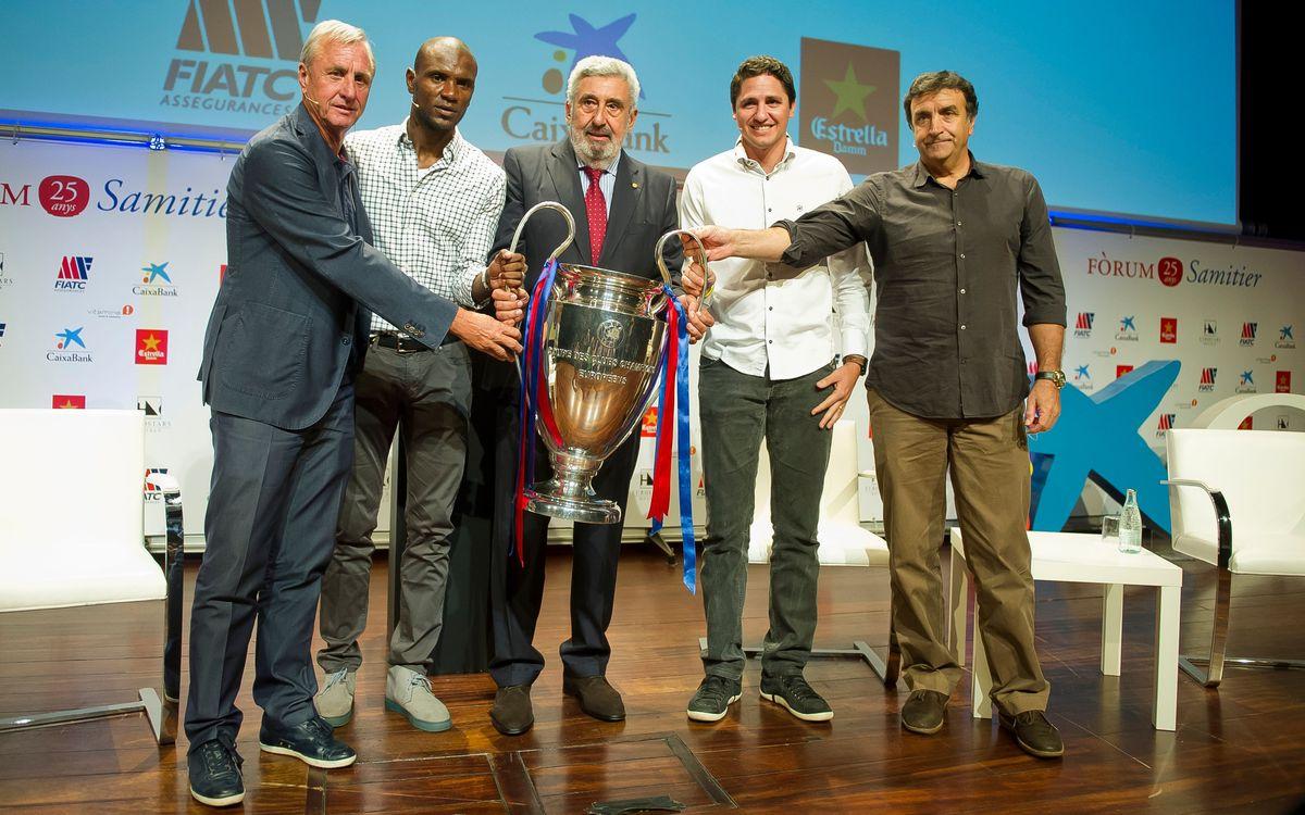 El Fòrum Samitier analitza les claus per aconseguir la cinquena Lliga de Campions