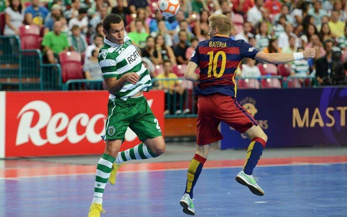 Sporting Clube de Portugal – FC Barcelona Lassa: Victòria per la mínima (4-5)