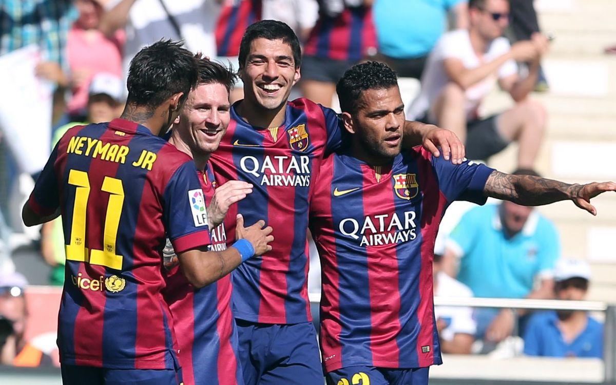 FC Barcelona equal biggest road win ever in La Liga