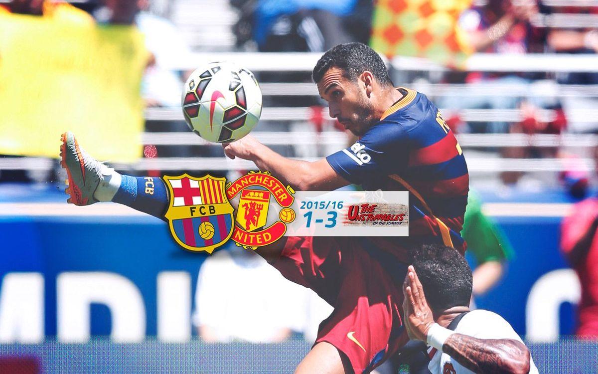 FC Barcelona: 1 - Manchester U.: 3