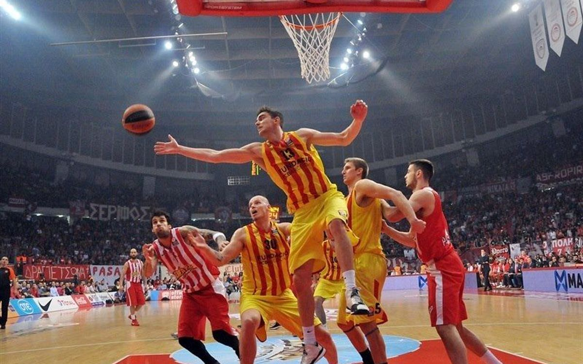 Olympiacos – FC Barcelona: late defeat in Greece (73-71)