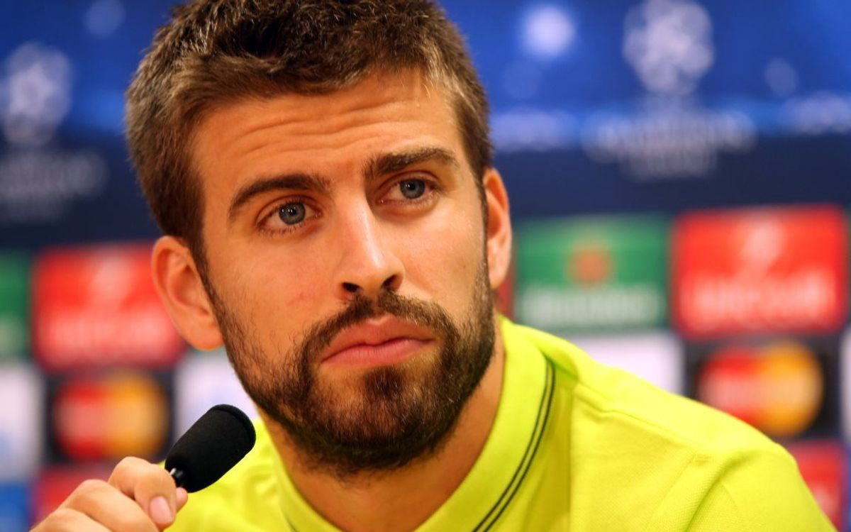 LIVE - Gerard Piqué press conference