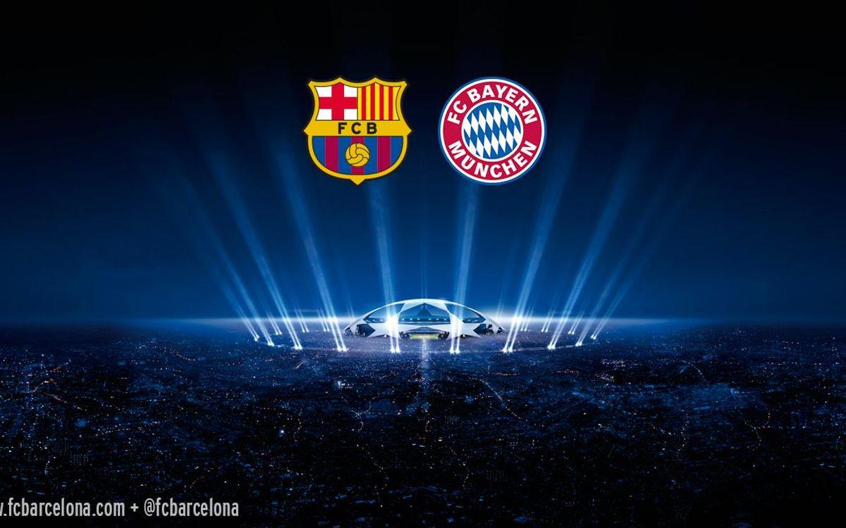 Le FC Barcelone affrontera le Bayern Munich en demi-finale de la Ligue des Champions
