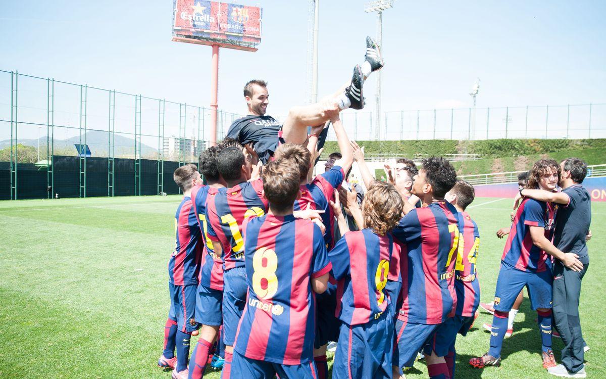 U16 A team wins league