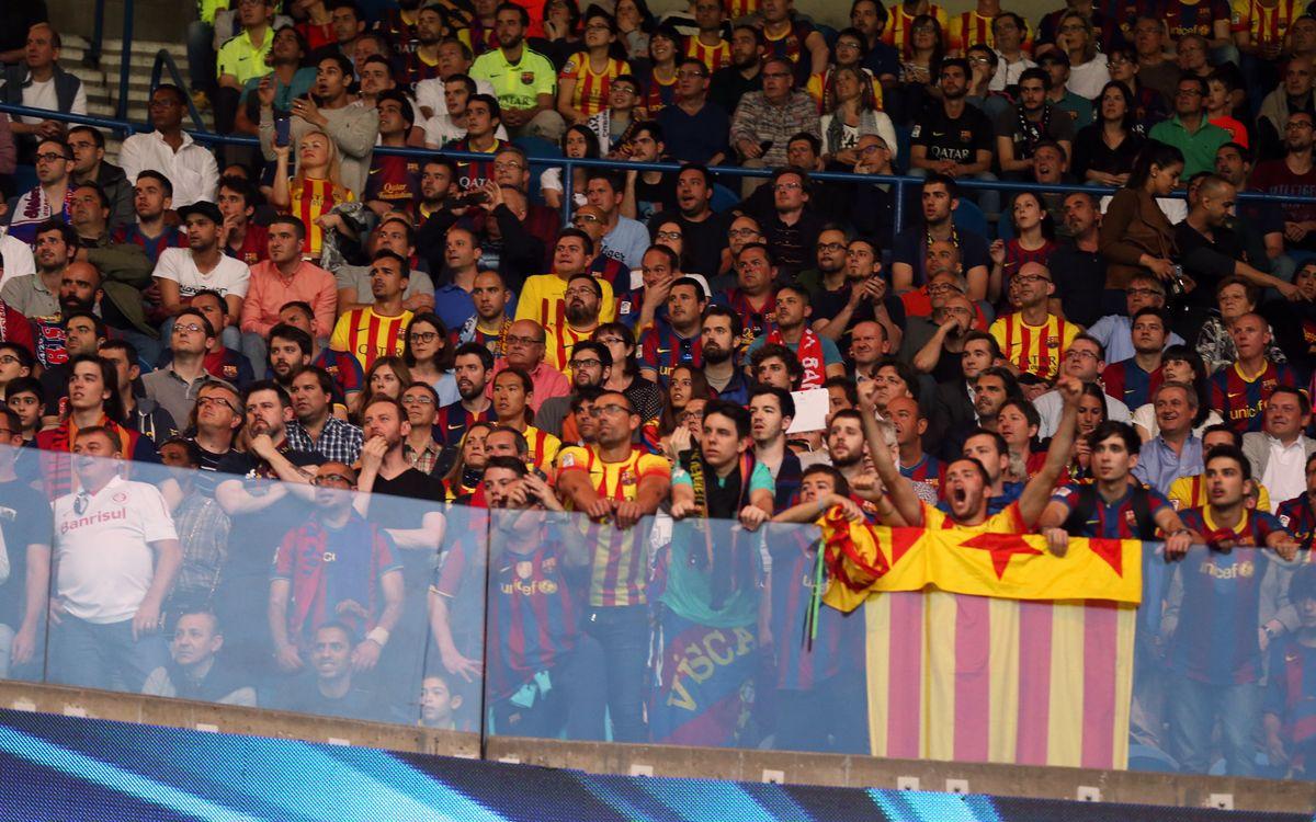 Els socis demanen 5.184 entrades per anar a veure el Bayern de Munic - FC Barcelona
