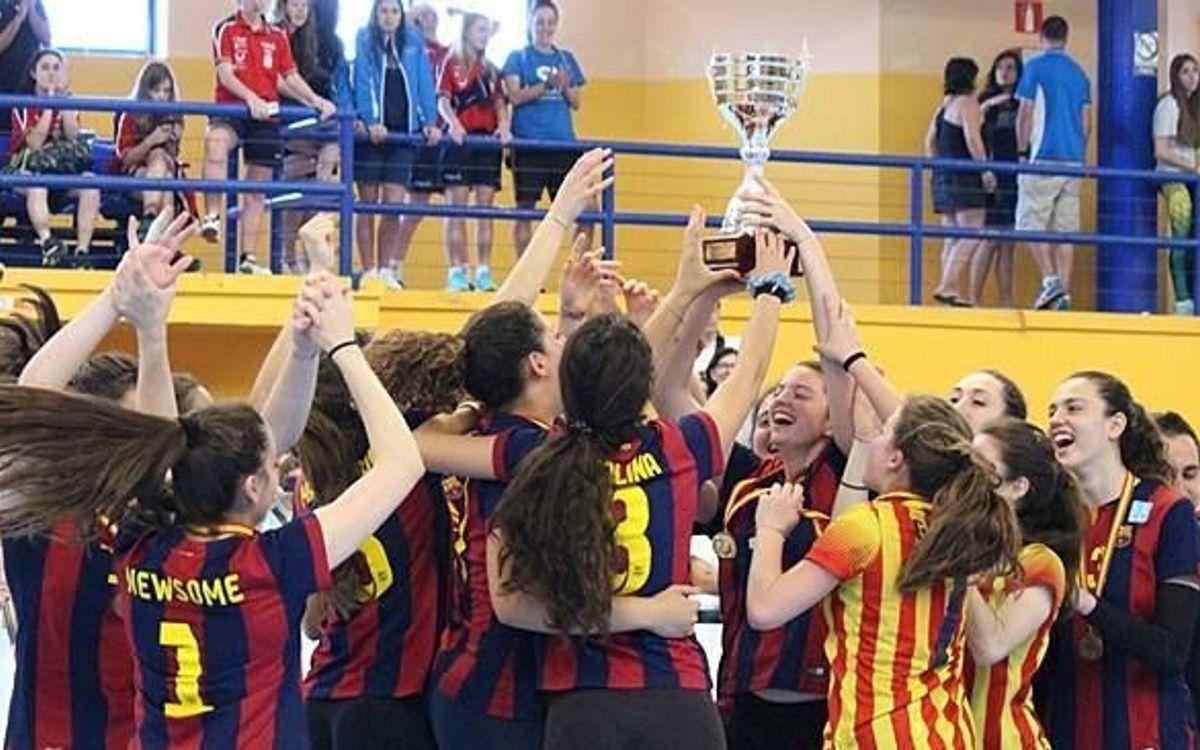 El CVB Barça, campió d'Espanya juvenil