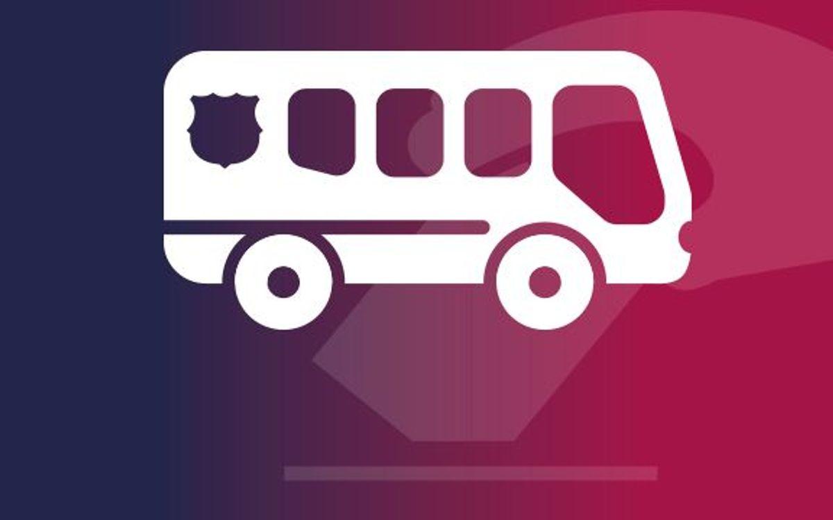 Servei gratuït de desplaçament en autocar per als socis el dia de les eleccions des de Girona, Tarragona i Lleida