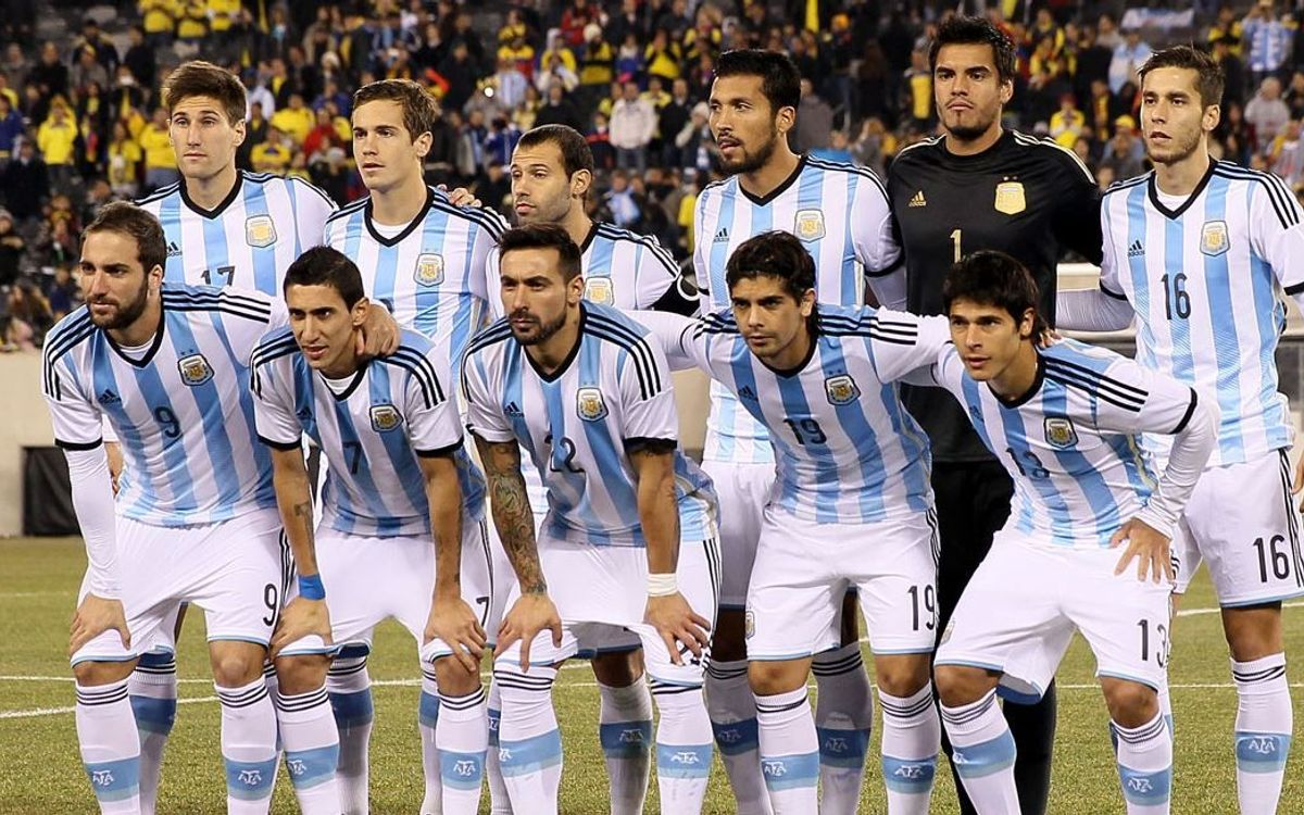Mascherano captains Argentina to victory